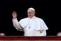 پاپ فرانسیس: با نگرانی تنشها در خلیج فارس را زیر نظر دارم