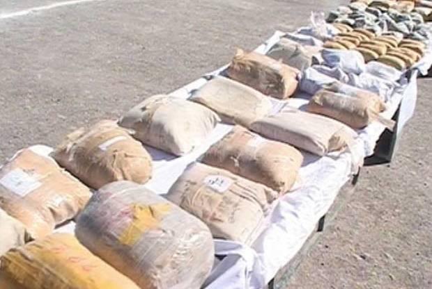 665 کیلوگرم مواد مخدر در کردستان کشف شد