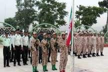 صبحگاه مشترک نیروی نظامی و انتظامی در قرچک برگزار شد
