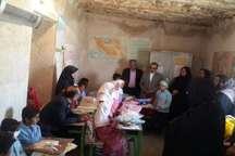 کمک 500 میلیون ریالی بانوان خیر به مدارس سخت گذر بستک