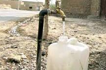 شاخص بهره مندی روستاهای شیروان از آب شرب 70 درصد است