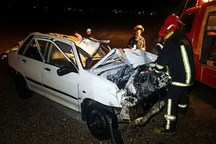 حوادث رانندگی شوش یک کشته و 11 مصدوم برجا گذاشتند