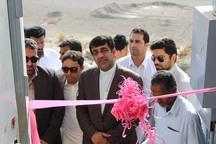 59 طرح عمرانی در نیکشهر به بهره برداری رسید