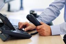 خطوط تلفن های ثابت و همراه در کرمانشاه وصل و مشکلی برای برقراری ارتباط نیست