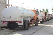 10 تانکر آب روزانه به مواکب مستقر در عراق ارسال می شود