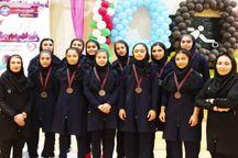 کسب مقام سوم دانش آموزان والیبالیست دختر البرزی در کشور