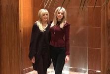همسر دوم ترامپ و دخترش در روز عید+ تصاویر