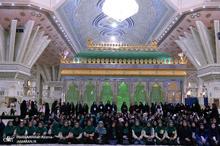 تجدید میثاق جمعی از دانش آموزان دختر استثنایی کشور با آرمان حضرت امام(س)