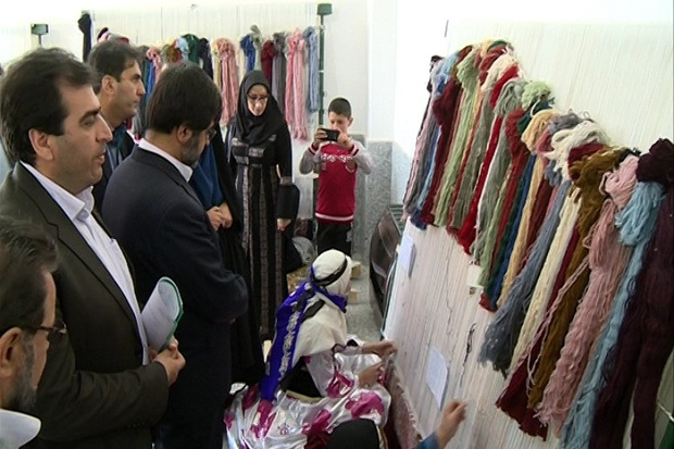 اردبیل در زمینه بافت فرش دستبافت استان برتر کشور شد