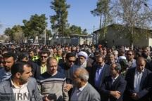 تشییع پیکر جانباختگان سیل و اعلام عزای عمومی در فارس
