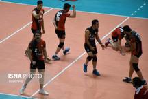 تیم والیبال شهرداری ارومیه مغلوب تیم کاله مازندران شد