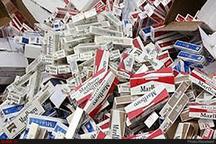 کشف ۲ هزاربسته تنباکو در محور بیجار- قیدار   کشف ۳۳۴ هزار نخ سیگار قاچاق در ایجرود
