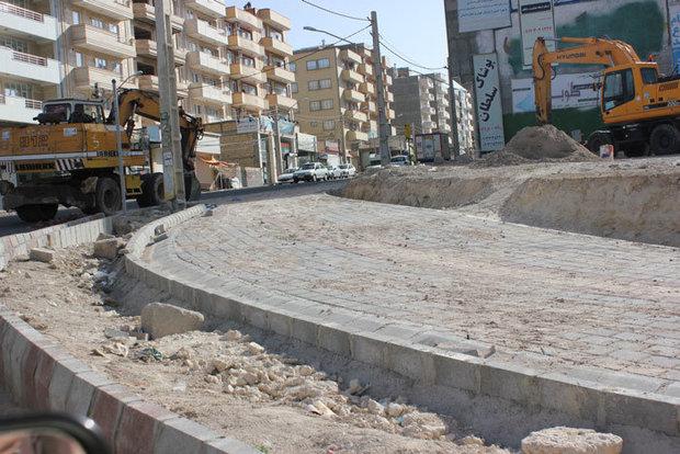 احداث مسیرهای جدید دوچرخهسواری و پیادهروی توسط شهرداری منطقه پنج تبریز