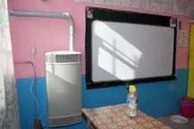 توزیع 123 دستگاه بخاری هوشمند هرمتیک در مدارس شیروان آغاز شد