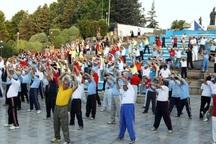 مردم استان تهران در بیش از یکهزار بوستان ورزش می کنند