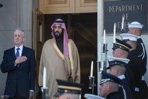 تاکید وزرای دفاع آمریکا و عربستان برای مقابله با ایران