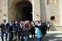 هفت هزار و 961 گردشگر خارجی از اماکن تاریخی قزوین بازدید کردند