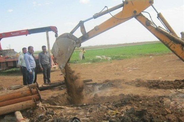 14 حلقه چاه غیرمجاز در تهران مسدود شد