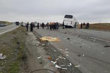 حادثه رانندگی در جاده بروجرد - اراک 2 کشته و سه مصدوم داشت