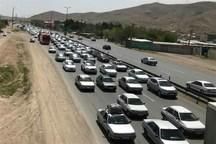 ترافیک در جاده های اصلی خراسان رضوی پرحجم است
