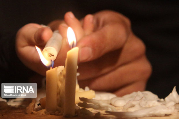 عزاداری مردم آستارا به یاد شام غریبان کربلا