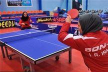 اردوی تیم ملی بانوان تنیس روی میز به میزبانی البرز آغاز شد