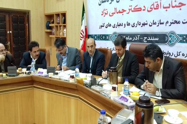 شهرداری های کردستان در مرز ورشکستگی قرار دارند