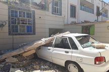 انفجار گاز در همدان به ۱۲ منزل مسکونی و خودرو خسارت زد