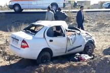 خواب آلودگی راننده در جاده ایلام - سرابله یک کشته برجا گذاشت