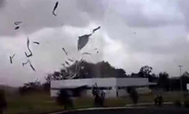 فیلم / طوفانی سهمگین در برزیل