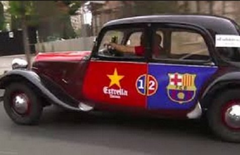 اقدام جالب دو برادر برای تماشای دیدار بارسلونا در تفلیس