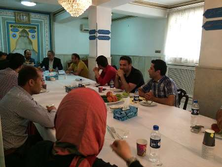 جلسه هم اندیشی دانشجویان مقیم ترکیه با رییس دانشگاه محقق اردبیلی