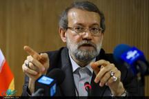 لاریجانی: دشمنان میخواهند اختلاف بین جریانات را دامن بزنند/ کشور نیازمند بازسازی اقتصادی است