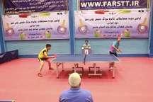 2 ورزشکار فارس به اردوی تیم پینگ پنگ جوانان ایران دعوت شدند