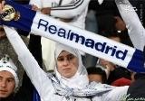 طرفداران محجبه رئال مادرید+ عکس