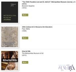 رایگان دانلود کنید: 425 کتاب هنری موزه متروپولیتن نیویورک