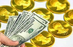 کاهش نرخ دلار و رشد قیمت سکه در بازار
