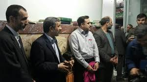 احمدی نژاد و بقایی در صف رای+عکس