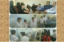 آموزش نقاش ساختمان ویژه کودکان کار و خیابان در خرم آباد