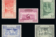 نخستین تمبر پستی ایران و جهان در موزه آستان قدس رضوی