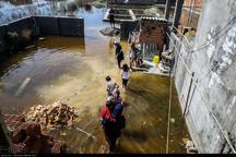 تخلیه 20 خانه در شهرستان فارسان در پی احتمال سیلاب