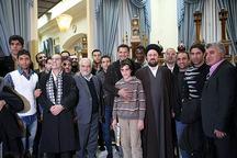 سرخپوشان ایران به دیدار یادگار امام رفتند