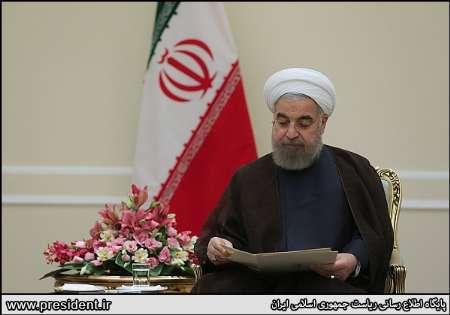 دیدار استانداران خوزستان، هرمزگان و اصفهان با روحانی