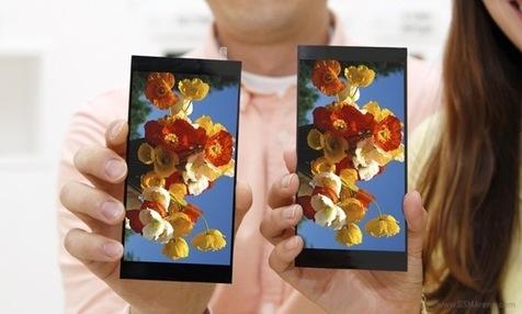 معرفی اولین نمایشگر ۵.۵ اینچی ال جی با وسعت رنگ ۱۲۰ درصد!