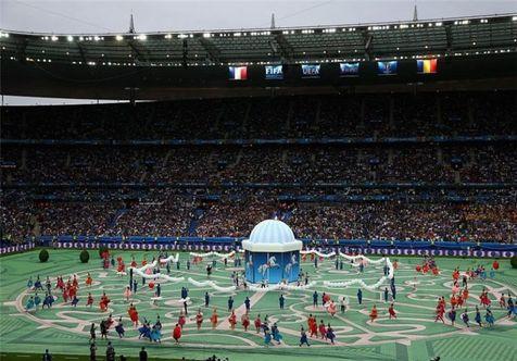 گزارش تصویری مراسم افتتاحیه یورو ۲۰۱۶
