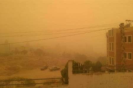 توفان شن بی سابقه شرق لبنان را درنوردید