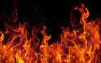 مرگ مرموز یک زن در شعله های آتش