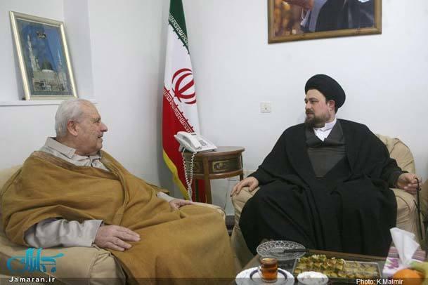 دیدار سفیر فلسطین با یادگار امام