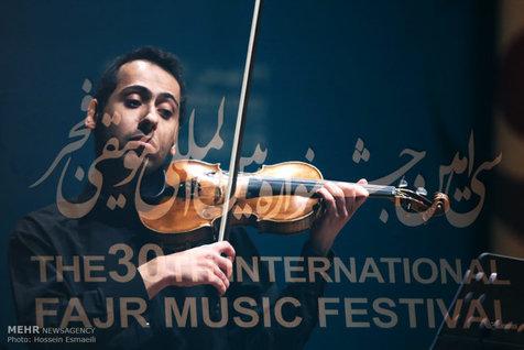 جشنواره بین المللی موسیقی فجر در سومین روز + تصاویر