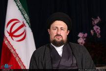 متن پیام سید حسن خمینی: همه با هم یکبار دیگر به دولت روحانی اعتماد کنیم